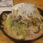 男前ちゃんぽん - 料理写真:野菜大盛チャンポン