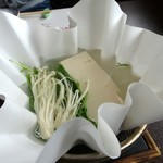 日月庵 - 湯豆腐
