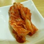 白さんの純豆腐 - 白菜キムチ