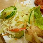 白さんの純豆腐 - サラダ
