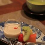 志木葉 -  豆乳杏仁豆腐とデザート