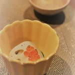 志木葉 -  先付けの菜の花とあさり