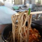 富陽軒 - 平たい蕎麦
