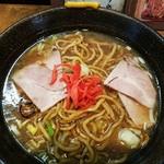 麺家 八の坊 - これがスープ焼きそばだ!2017.2