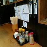 麺家 八の坊 - メニュー