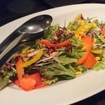 楽蔵 - 【サラダ】10品目の彩りサラダ