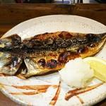呑処 ひろし櫻 - 金華鯖開き焼き