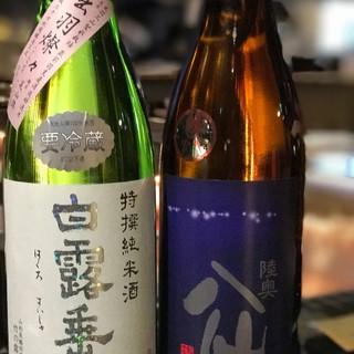 東北6県の「地酒」(全50種)にこだわるッ★