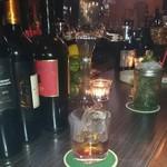 隠れ家bar PTN - スモーキー マンハッタン