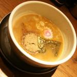 麺屋 ふじ田 - 濃厚つけ麺(780円)麺大盛り・あつ盛り2017年2月