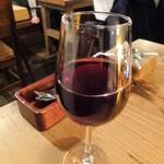 清水橋バル - グラスワイン赤