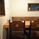 清水橋バル - 2階テーブル席