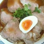 豚珍館 - チャーシュー麺セット1050円