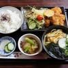 中の家 - 料理写真:本日のサービスメニューのチキンカツ定食800円