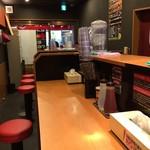 63140642 - 201702  蜻蛉  店内(座席より右まわり)→