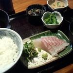 63140836 - 南予の鯛飯定食(1,100円) 宇和島鯛飯です