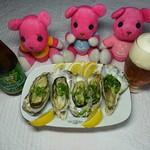 63141119 - ピルスナー・牡蠣に合う合う♡