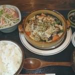 にっぽんの洋食 江戸一 - 2017/01/24 11:40訪問 グラタンハンバーグ定食