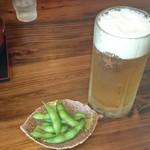 にっぽんの洋食 江戸一 - 2016/08/30 11:20訪問 生ビール大