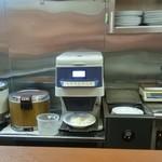 CoCo壱番屋 - ご飯の計量マシーン