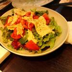 Koume - 湯葉とトマトのサラダ