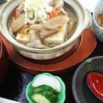 和風レストランむさし - 料理写真:日替わり もつ煮御膳