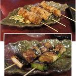 嶋屋 - 黄金の豚味噌漬け[3本380円]・ねぎま