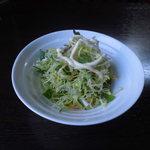 Chiffon Cafe Soie - 04 ミニサラダ