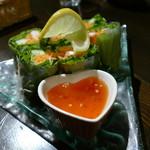 ボンボン ウェボン - ベトナム風生春巻き¥780