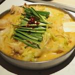 蟻月 - 料理写真:モツ鍋
