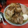 ラーメン富士丸 - 料理写真:国産ぶためん 麺半分