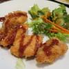 コ・ビアン - 料理写真:チキンカツ定食290円(外税)。