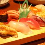 Kabura - 寿司盛り合わせ