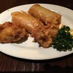 華厨香 - 春巻と鶏の唐揚