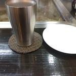 鉄板焼き専門店 十々 - ドリンク写真:サーモスのタンブラー 私も愛用しています