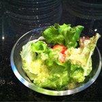 イタリア料理 イル・ヴィネイト - ランチセットのサラダ