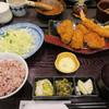Tonkatsuhamakatsu - 料理写真:牡蠣フライとヒレ膳