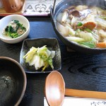 とんちん館  - 料理写真:きのこすいとん¥700