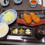 とんかつ浜勝 - ロースとヒレかつ定食