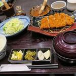 とんかつ浜勝 - 黒豚ロースかつ定食