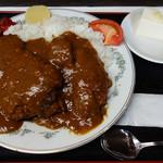 肉の宝屋 - チキンカツカレー