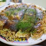 ひろしま丸かじり 中ちゃん - お好み焼き(そば)