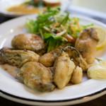 中ちゃん - 牡蠣の鉄板焼き