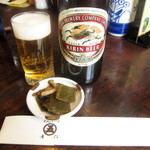 Marugo - ビールとお通し