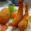 洋食の店 みしな - 料理写真:海老フライとかにクリームコロッケ
