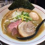 アンタイヌードルズ - 料理写真:濃厚中華そば ¥750 味玉 ¥100