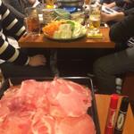 慶太郎酒場 - 鍋で飲み会したんよ。