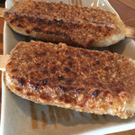 五平餅の太田 - ええ感じの炭火焼です