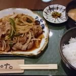 63158539 - ジンギスカン定食900円