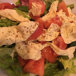 63159471 - 生湯葉とトマトのサラダ